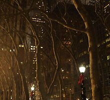 Bryant Park Christmas by Jason Clark