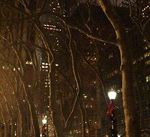 Bryant Park Christmas by Jason Clark