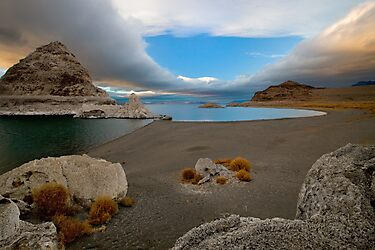Pyramid Lake by Cecil Whitt