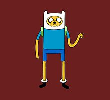 Finnjake - Adventure Time by Andrew Alcock