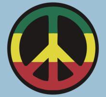 Rasta Peace Kids Clothes