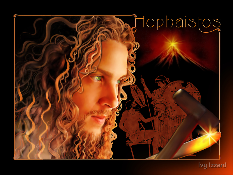 Hephaistos by Ivy Izzard