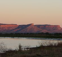 Sunset over the Cockburn Ranges by J-N-F