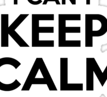 I cant keep calm Im a REDDIN Sticker