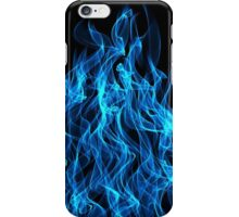 Blue Fire iPhone Case/Skin