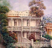 'Carlton Terraces' by Helen Miles
