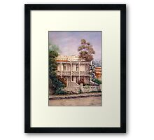 'Carlton Terraces' Framed Print