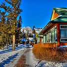 Mountain Retreat  Jasper National Park by PFrogg