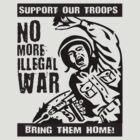 No More Illegal War by Flip49