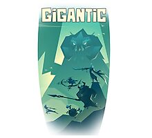 GIGANTIC Guardian ^^ Photographic Print