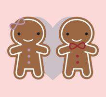 Cookie Cute Gingerbread Couple Kids Clothes