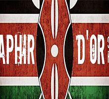 Saphir D'or 90.7FM Flag by Kizzahxoxo