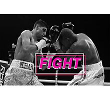 Boxing - Fight Photographic Print