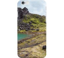 ICELAND:THE EMERALD LAKE iPhone Case/Skin