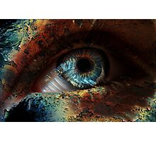 Spooky Eye Photographic Print