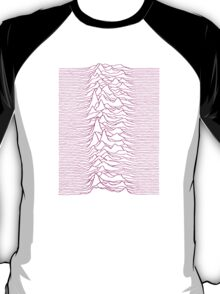 Pulsar waves - White&Pink  T-Shirt