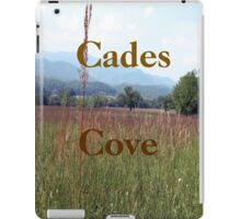 Cades Cove... prints and products iPad Case/Skin