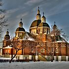 St. Josaphat Ukrainian Catholic Cathedral by John Fletcher