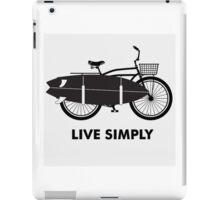 Live simply iPad Case/Skin