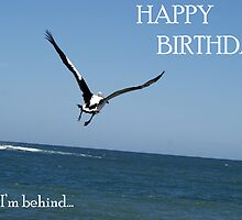 Happy Birthday - Sorry I'm Behind... by Sharon Robertson