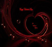 Happy Valentine's Day, I Love You... by Angi Baker