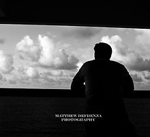 Feet on the ground, head in the clouds. by Matthew DeFrenza