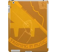 Training in Music iPad Case/Skin