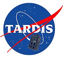 Nasa Tardis Photographic Print