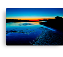 """Daybreak Reflections"" Canvas Print"