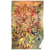 Majora's Mask 3D (Legend of Zelda) Poster