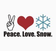 Peace Love Snow by 4getsundaydrvs