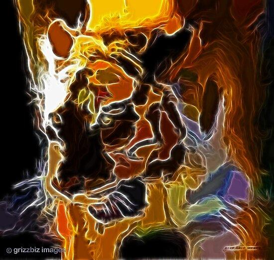 Tiger Fractalius by thegrizz15