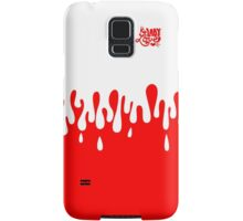 PAINT EVERYWHERE! red Samsung Galaxy Case/Skin