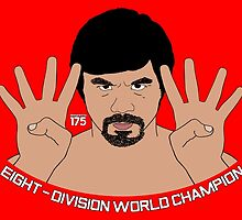 Manny Pacquiao - Eight-Division World Champion by liam175
