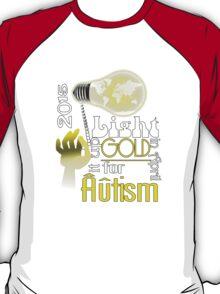 Light it up Gold 2015 T-Shirt
