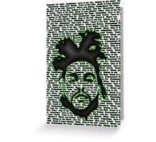 Weeknd'er Greeting Card