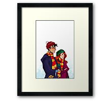 James and Lily Framed Print