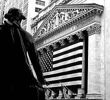 The New York Stock Exchange by Jaymes Williams