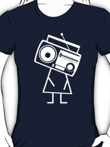 RADIO-FACE (White) T-Shirt