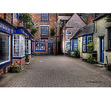 Quaint Alley Photographic Print