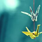 Paper Cranes by ShereenM