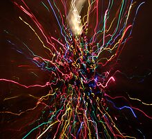 Colored Electricity Storm by DuaneVigue