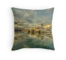 Rijeka Yachts  Throw Pillow
