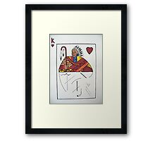 Chief of Hearts Framed Print