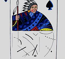 Chief of Spades by Arnold Isbister