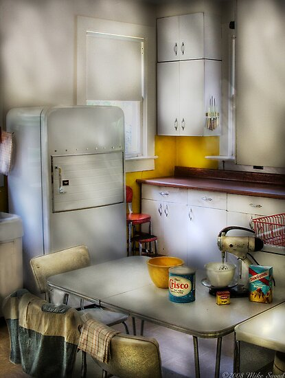 A 1960's Kitchen by Mike  Savad