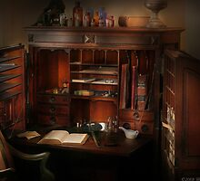 Pharmacist Desk by Mike  Savad