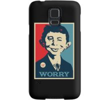 WHAT ME WORRY Samsung Galaxy Case/Skin