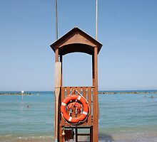 Life Guard Station  by jojobob