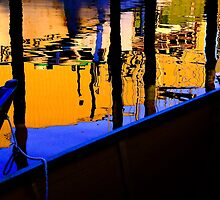 Gloucester Harbor Abstract by Richard VanWart